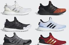 Adidas Officially Unveils Game Of Thrones UltraBoost Collection