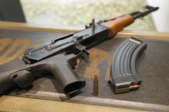 Dad Arrested For Attending School With AK-47 After His Son Called Him Crying