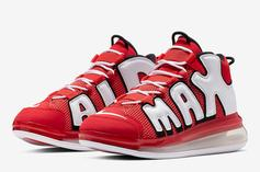 """Nike Air More Uptempo 720 """"Hoop Pack"""" Brings the Chicago Bulls Vibes"""