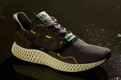"""Adidas ZX4000 4D """"Carbon"""" New Images & Release Information"""
