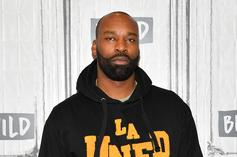 "Baron Davis Emotional During Nipsey Hussle Segment On TNT ""Players Only"""