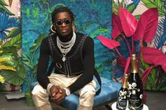 """Young Thug Appears To Rep The """"Free YNW Melly"""" Movement"""