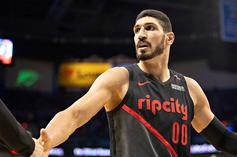 """Enes Kanter Given FBI """"Panic Button"""" After Receiving Constant Death Threats"""