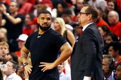 Drake Consoles Kevin Durant After Catastrophic Injury: Watch