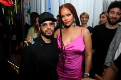 Rihanna Looks Gorgeous With Red Braids At Fenty New York Pop-Up