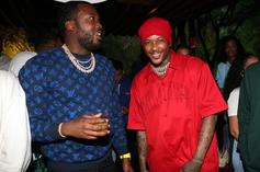 """Meek Mill, YG, & Others Pay Homage To Nipsey Hussle During """"BET Experience"""""""
