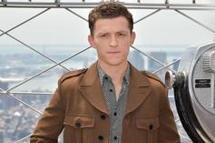 Tom Holland Saves Girl Experiencing Panic Attack From Autograph-Seeking Fans