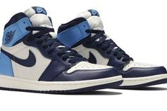 "Air Jordan 1 High OG ""UNC/Obsidian"" Coming This Month: Detailed Look"