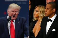 Trump Takes Aim At Jay-Z & Beyonce, Pisses Off Prince's Estate