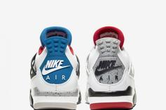 """Air Jordan 4 """"What The"""" Official Images Revealed: Release Details"""