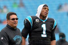 Cam Newton Reacts To Ron Rivera Firing With Emotional IG Message