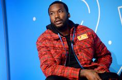 Meek Mill Spits Fire Bars In Booth Session Snippet
