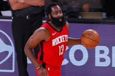 James Harden Deflects On Giannis Antetokounmpo Question
