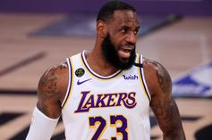 LeBron James Reacts To Breaking Massive Playoff Record