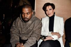"""Kris Jenner Reportedly """"Appalled"""" By Kanye West Peeing On Grammy"""