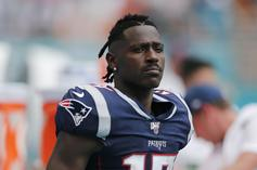 Antonio Brown Disrespects Nick Foles Following Bears Question
