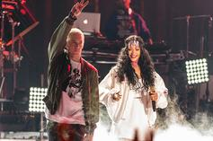 """Eminem Apologizes To Rihanna For """"Siding"""" With Chris Brown Over 2009 Assault"""