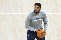 Karl-Anthony Towns Tests Positive For COVID-19