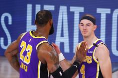 LeBron James & Alex Caruso Roasted After Last Second Miss
