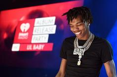Lil Baby Is All Smiles As He Poses With His Son Jason Ahead Of The Grammys