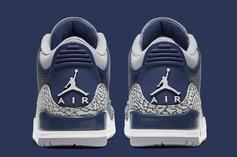 "Air Jordan 3 ""Georgetown"" Release Date Unveiled"