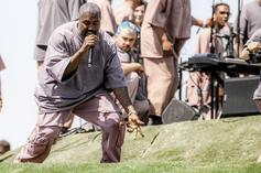 Kanye West Performs At DMX Memorial Service With Sunday Service Choir