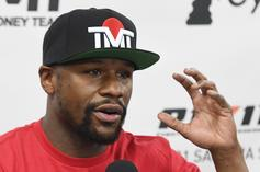 Floyd Mayweather Ignores Insults About Intelligence & Criminal Past