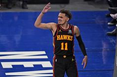 Trae Young Reacts After Knicks Fan Spits At Him