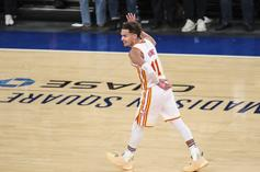 Trae Young Delivers One Final Troll To The Knicks