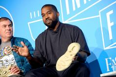 Kanye West's New Yeezy Roasted For Looking Like Mickey Mouse Shoes