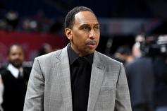 Stephen A. Smith Unamused After Quavo & Kendrick Perkins Faceoff