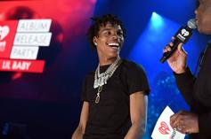 Lil Baby Buys Out Foot Locker, Gives Shoes To Kids In His Community