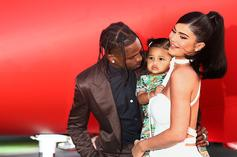 Kylie Jenner Shares Sweet Father's Day Photo & Message For Travis Scott