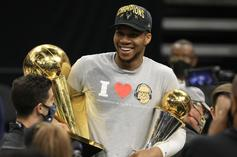 Giannis Antetokounmpo Trolls His Haters With Hilarious Parade Gesture