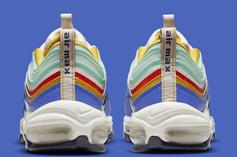 """Nike Air Max 97 Gets Bright New """"Multi-Color"""" Offering: Photos"""