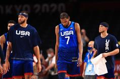 Team USA Upset By France At The Olympics, NBA Twitter Reacts