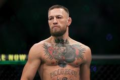 Conor McGregor Grinds It Out In The Gym After Gruesome Injury