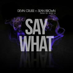 Devin Cruise - Say What Feat. Sean Brown