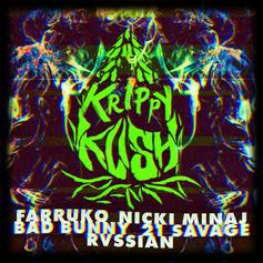 "Nicki Minaj & 21 Savage Join Farruko, Bad Bunny & Rvssian For ""Krippy Kush"" Remix"
