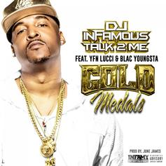 """DJ Infamous Links Up With YFN Lucci & Blac Youngsta On """"Gold Medals"""""""