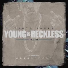 "Lloyd Banks Drops More Heat With His ""Young & Reckless Freestyle"""