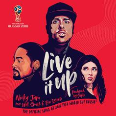 """Will Smith Flexes Melodic Chops On Nicky Jam's """"Live It Up"""" World Cup Anthem"""