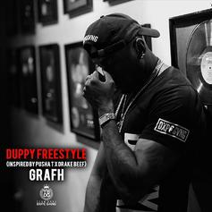 "Grafh Draws Inspiration From Drake & Pusha T On ""Duppy"" Freestyle"
