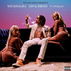 "Wiz Khalifa & Problem Link Up For New Party Cut ""Gin & Drugs"""