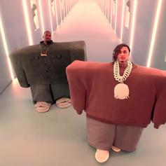 "Kanye West & Lil Pump Are Very Creepy In Their New Collab ""I Love It"""