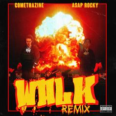 """A$AP Rocky Jumps On Comethazine's """"Walk"""" For The Remix"""