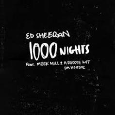 """Meek Mill & A Boogie Wit Da Hoodie Link Up With Ed Sheeran For """"1000 Nights"""""""