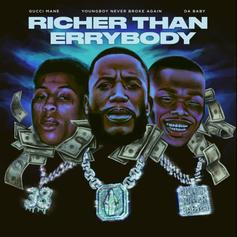 """Gucci Mane Connects With DaBaby & NBA YoungBoy On """"Richer Than Errybody"""""""