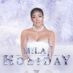 """Mila J Drops Off Christmas-Themed """"Holiday"""" Project"""