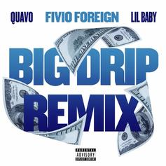 "Fivio Foreign Updates ""Big Drip"" With Lil Baby & Quavo Remix"